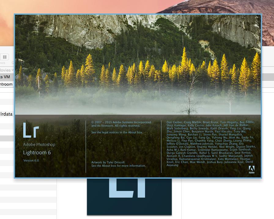LR6 screen